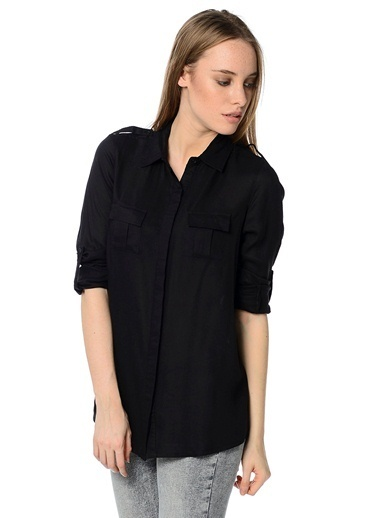 Mia Gömlek Siyah